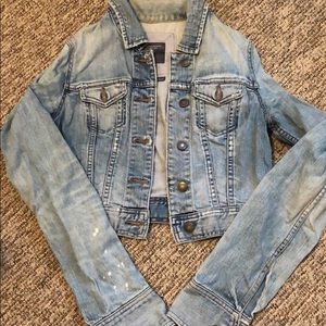 A&F Denim Jacket Medium